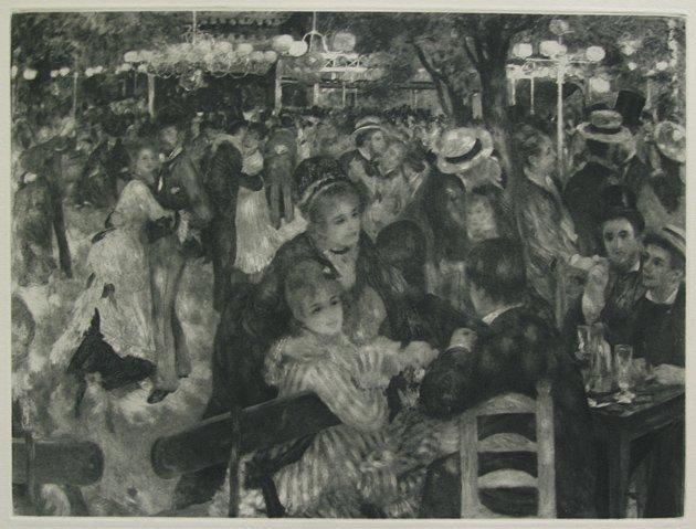 Pierre Renoir Moulin Galette Heliogravure 1919