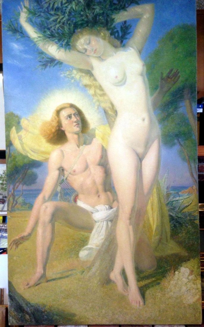 Emile Delobre Impressionism MASTER Painting