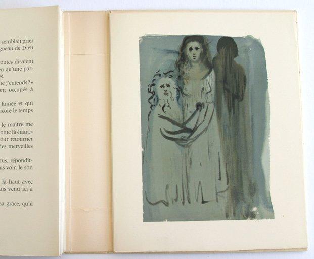 Salvador Dali Woodcut 1960 Angry Ones
