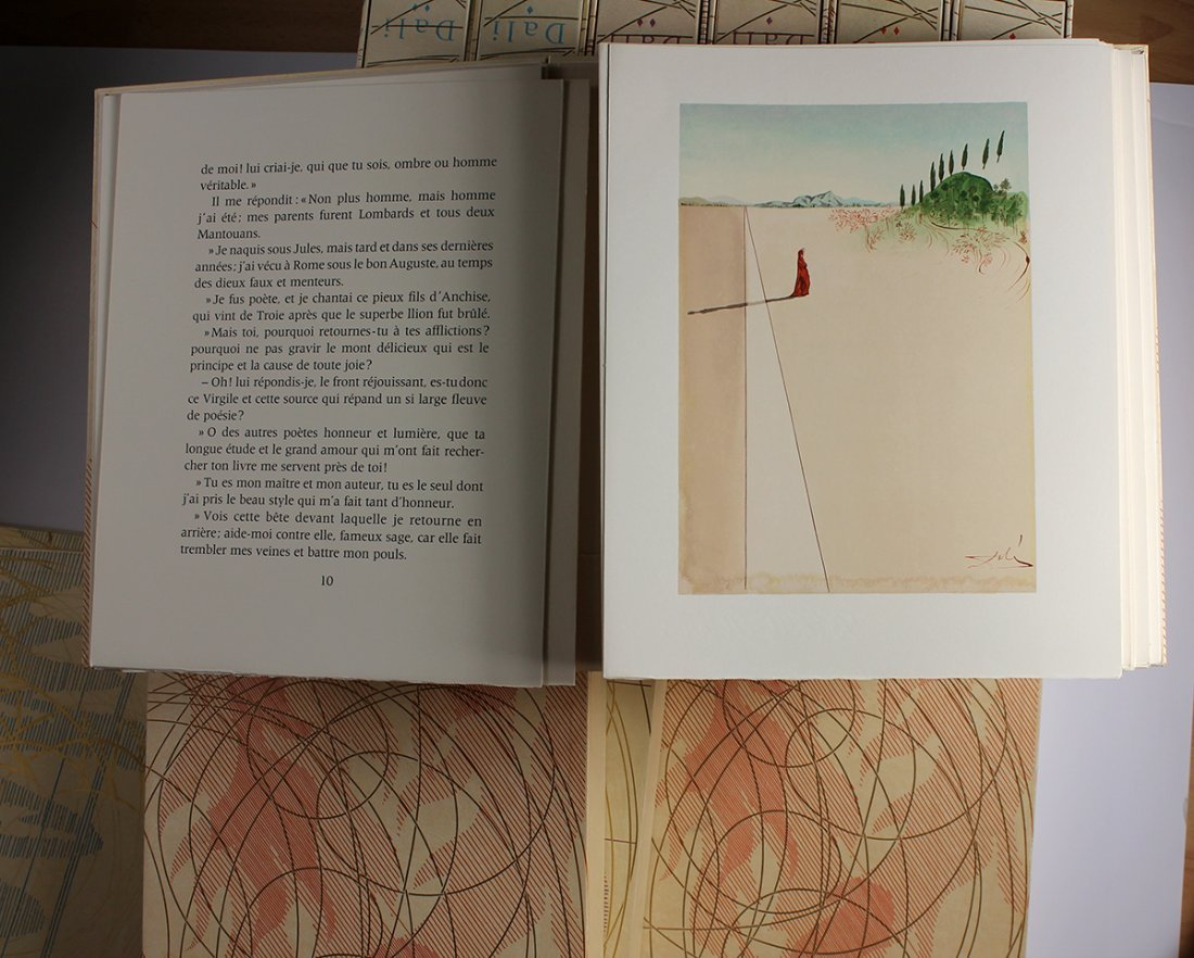 Salvador Dali Divine Comedy Suite 100 Prints