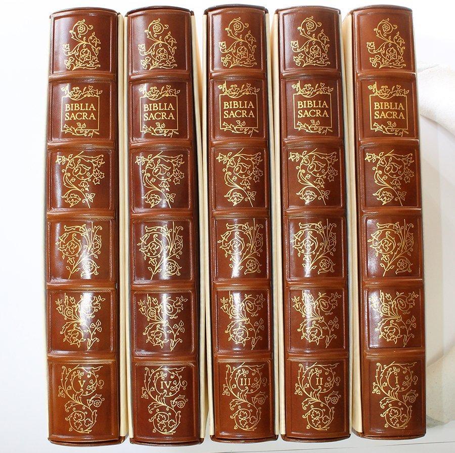 Salvador Dali Complete Original 1967 Biblia Sacra Suite