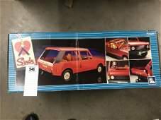 A boxed Pedigree Sindy Range Rover.