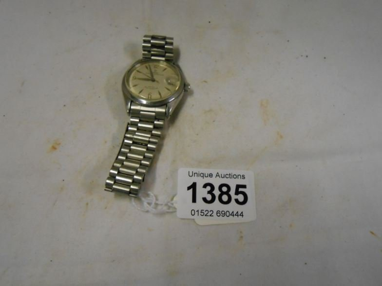 A Tudor Rolex wristwatch with oyster case