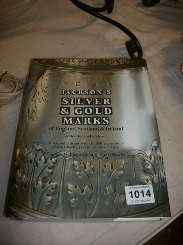 A large volume of Jackson's silver marks