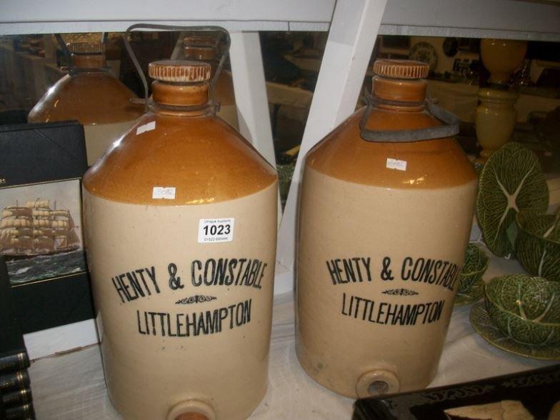 2 large 'Henty & Constable, Littlehampton' Stugs