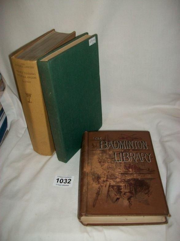 A rare 1906 'The Badminton Library Salmon & Trout fishi