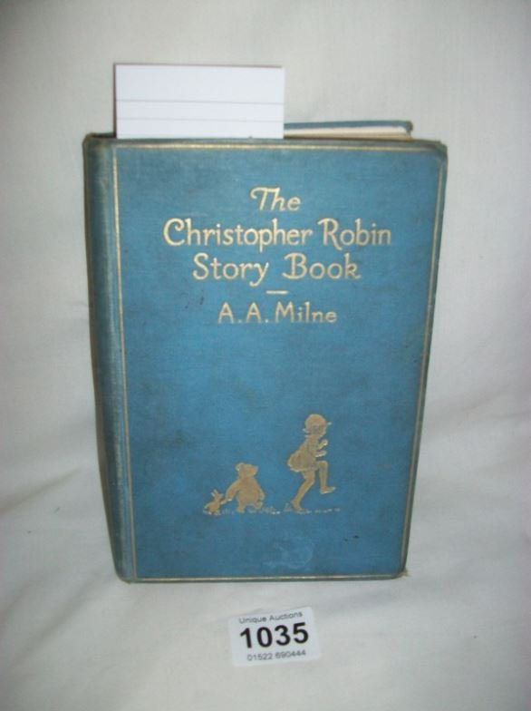 The Christopher Robin Story Book by A A Milne, 1929
