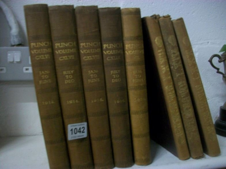 8 volumes of Punch