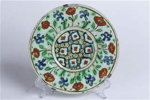 A small Iznik plate