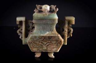 A jade amphora
