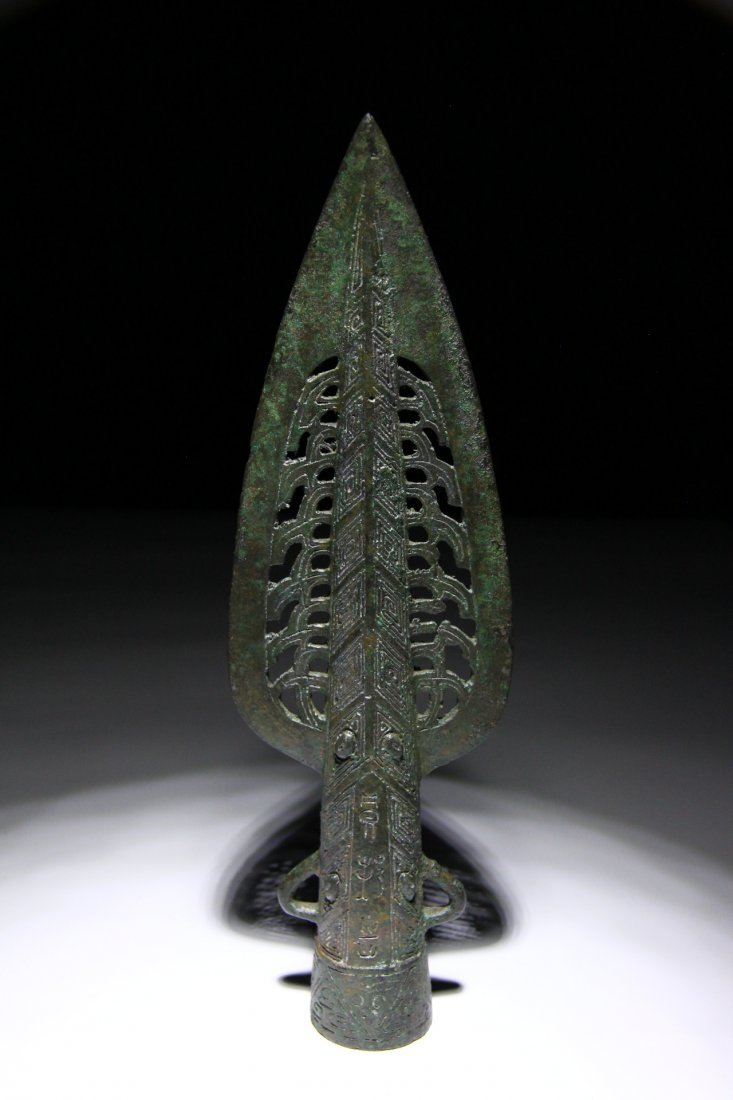 Chinese Shang Dynasty Spearhead