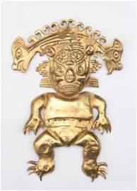 Pre Columbian Moche Ai Apaec God
