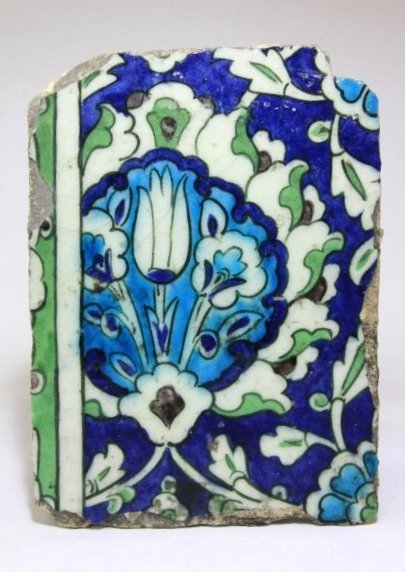 Islamic Ottoman Tile 16th C