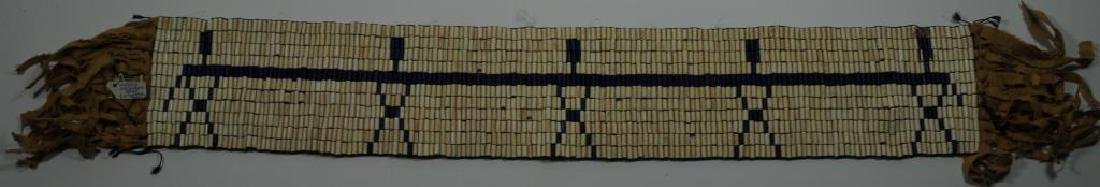 IROQUOIS WOMAN'S NOMINATING BELT 5 FIGURES