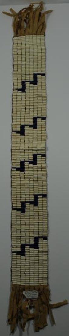 IROQUOIS BELT OF THE 5 NATIONS WITH 5 LIGHTNING