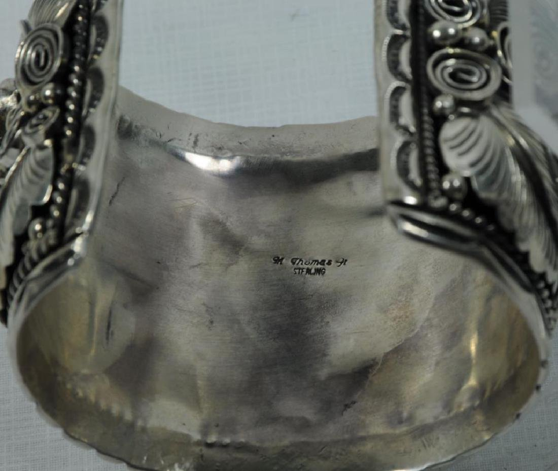SILVER CUFF WITH TURTLE - 3