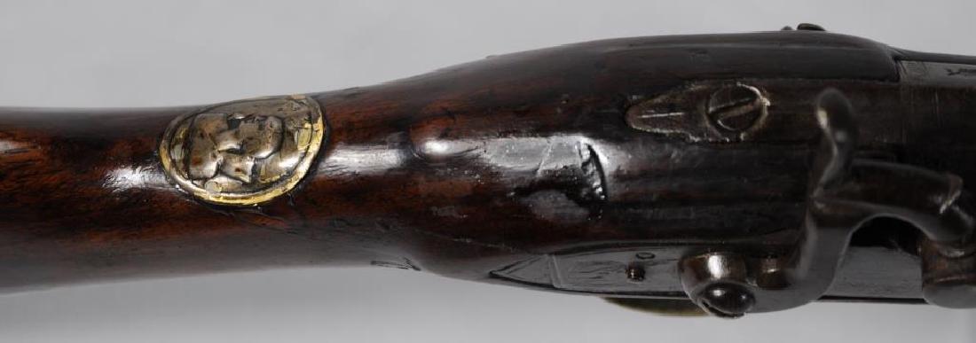 FINE EARLY PERCUSSION 'CHIEF'S GUN' A TREATY GUN, - 2