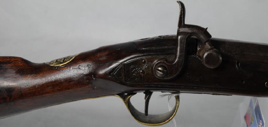 FINE EARLY PERCUSSION 'CHIEF'S GUN' A TREATY GUN, - 3