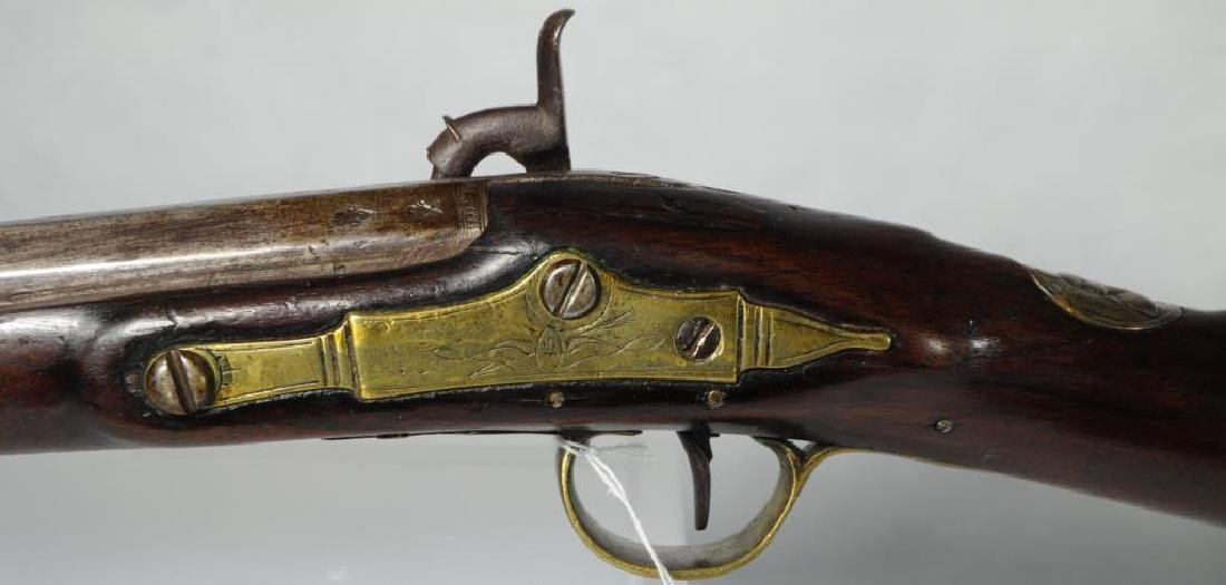 FINE EARLY PERCUSSION 'CHIEF'S GUN' A TREATY GUN, - 4