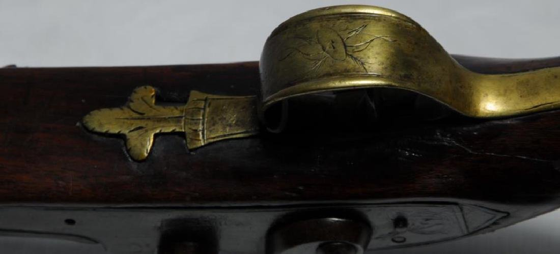 FINE EARLY PERCUSSION 'CHIEF'S GUN' A TREATY GUN, - 8