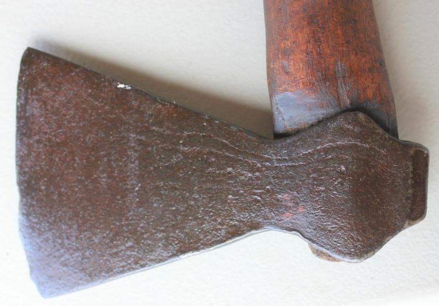 IMPORTANT EARLY TRADE TOMAHAWK WITH ENGRAVED HEAD - 3
