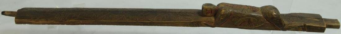 VERY FINE HISTORIC PIPE STEM C. 1800'S, FOUND IN