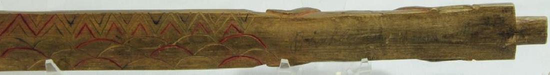 VERY FINE HISTORIC PIPE STEM C. 1800'S, FOUND IN - 4