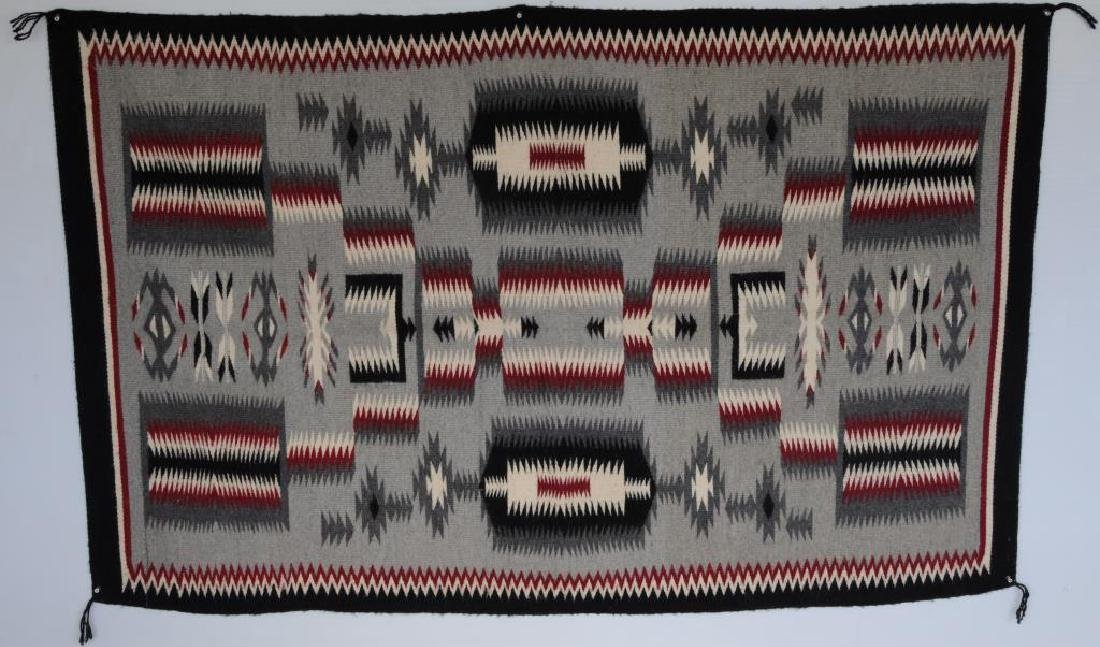 NAVAJO RUG SOLD BY CROWN POINT RUG WEAVERS, NEW