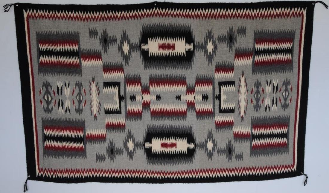 NAVAJO RUG SOLD BY CROWN POINT RUG WEAVERS, NEW