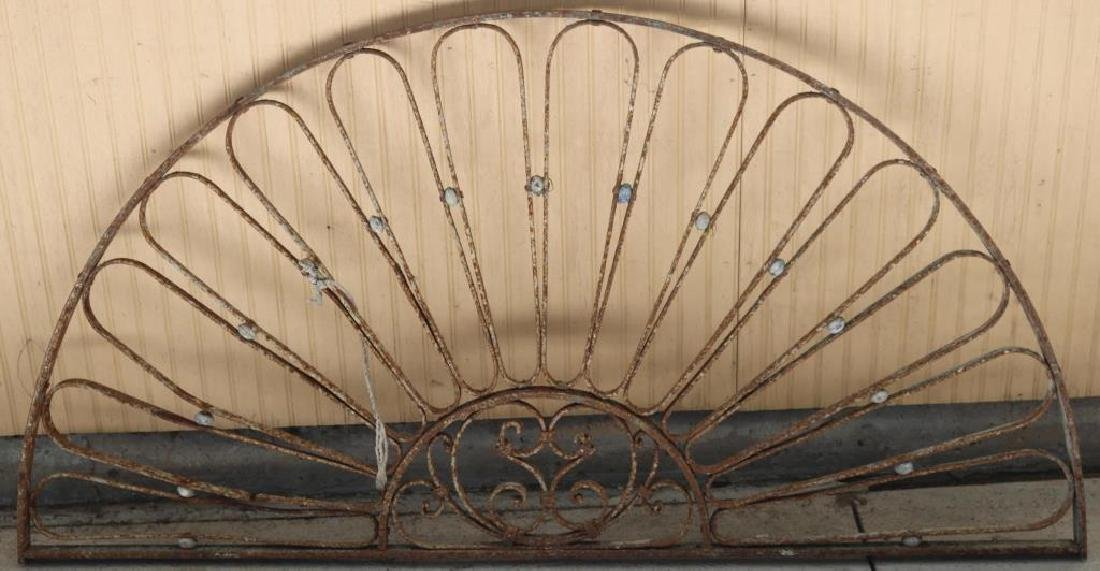 WROUGHT IRON ARCH,