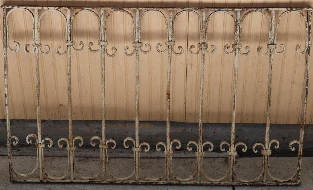 FANCY WROUGHT IRON PANEL,