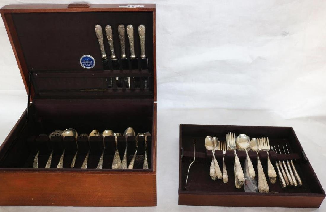67 PIECES KIRK AND SONS STERLING FLATWARE SET,