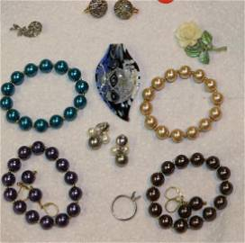 COLLECTION JEWELRY INC. 4 DYED FRESHWATER