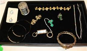 VINTAGE STERLING AND COSTUME JEWERLY INC FANCY
