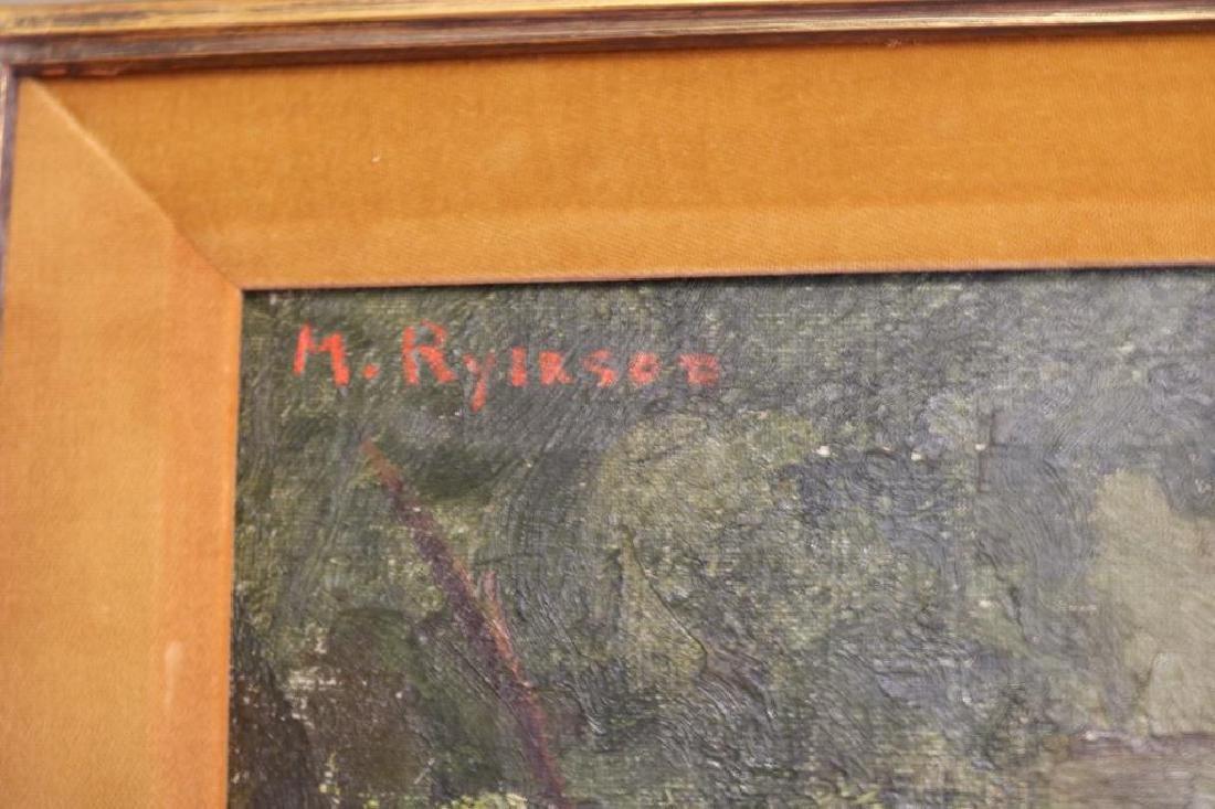 MARGERY A. RYERSON BORN 1886-1989 OIL ON CANVAS - 2