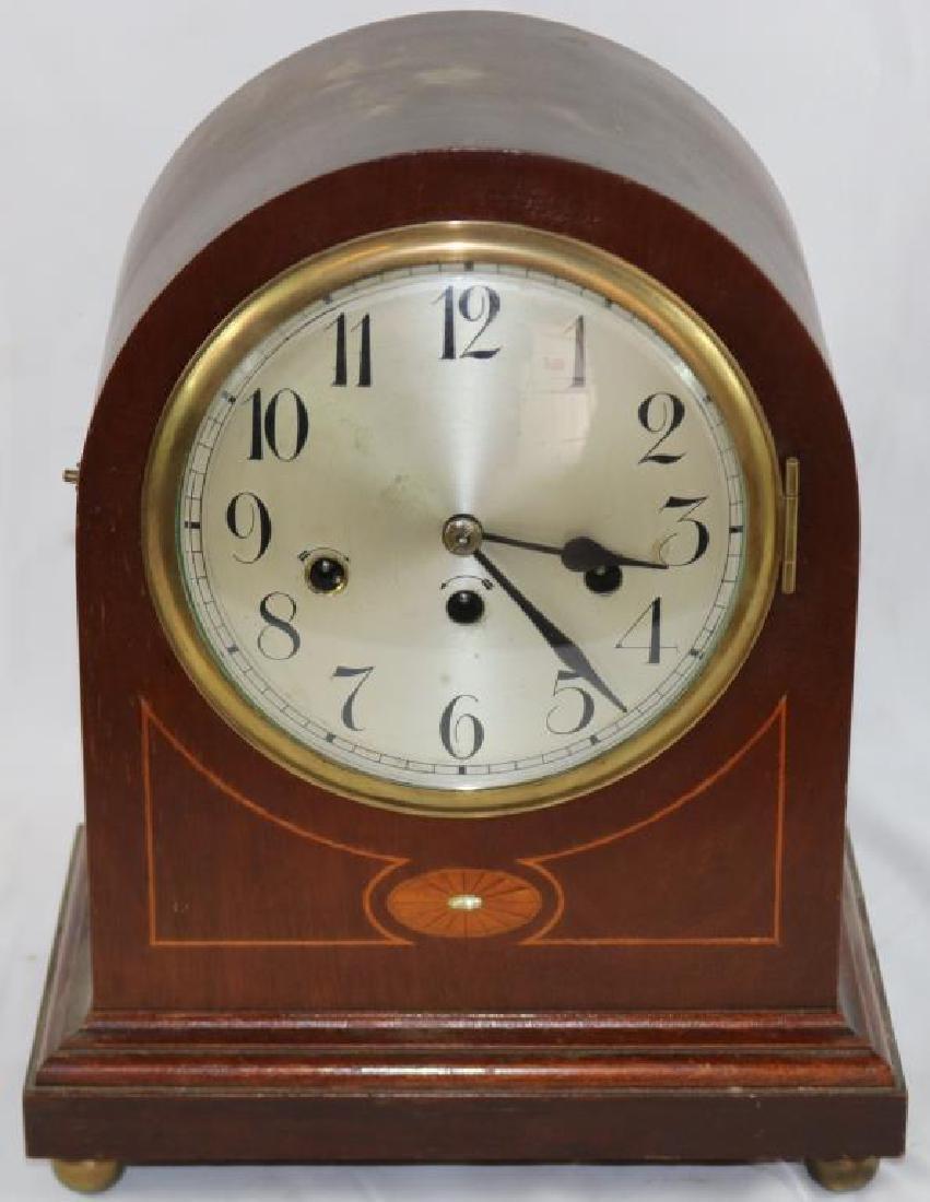 EARLY 20TH C. JUNGHANS GERMAN MANTLE CLOCK,