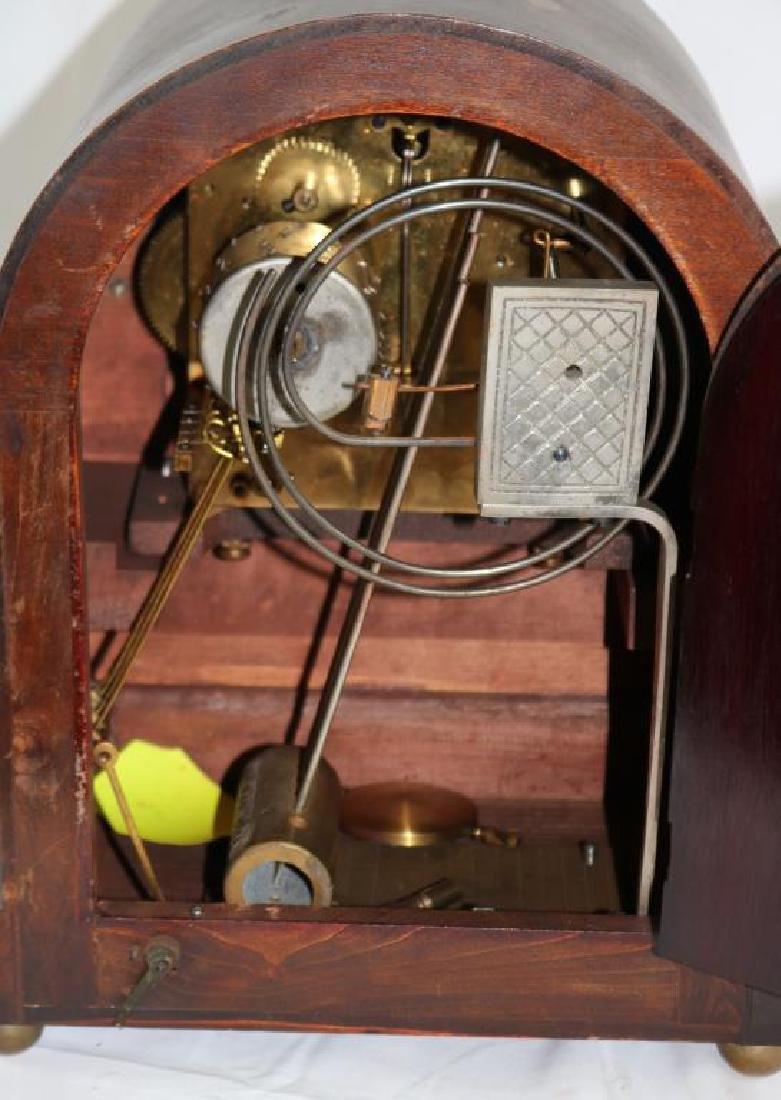 EARLY 20TH C. JUNGHANS GERMAN MANTLE CLOCK, - 2