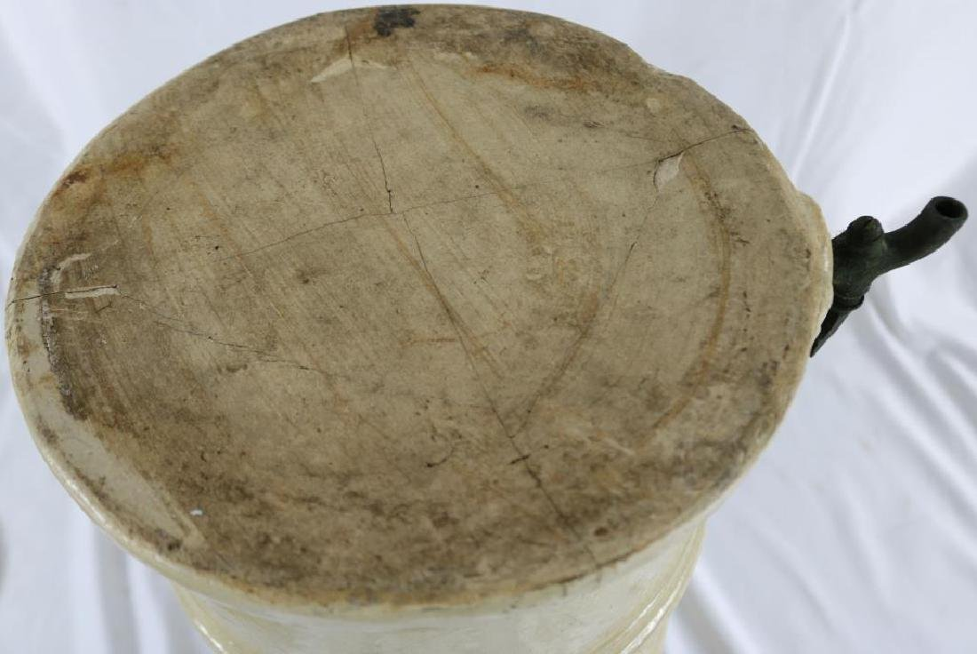 19TH C. STONEWARE WATER FILTER BY CHEAVINS - 4