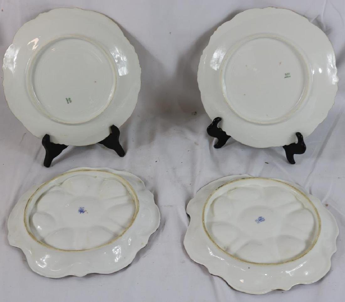 LOT OF 4 PORCELAIN PLATES TO INCLUDE 2 CT AUSTRIA - 2