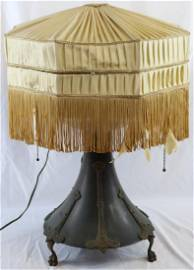 RARE VICTROLA LAMP BY BURNS POLLOCK ELECTRIC