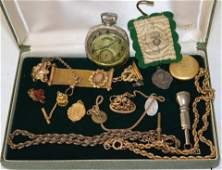 COLLECTION OF VICTORIAN GOLD FILLED & OTHER
