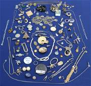LARGE COLLECTION OF MISC COSTUME JEWELRY FROM