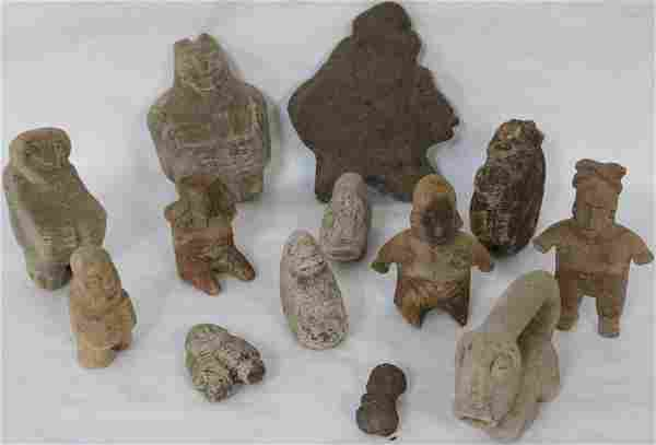 COLLECTION OF 13 PRE-COLUMBIAN , PANAMANIAN