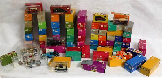 COLLECTION OF 73 RIO DIE CAST VEHICLES TO INCL.
