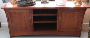 CONTEMPORARY STICKLEY CHERRY LOW SERVER, POSSIBLY