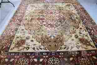 LARGE CONTEMPORARY TUFTED ORIENTAL RUG, TUFTED,
