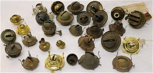 COLLECTION OF 19TH & 20TH C. BURNERS, APPROX. 29,