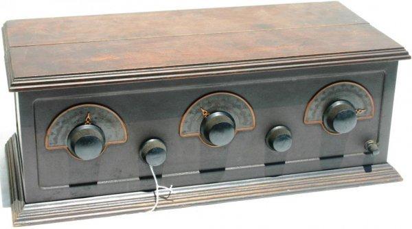 11: 1924 5 TUBE STEWART WARNER DC RADIO BATTERY OPERATE