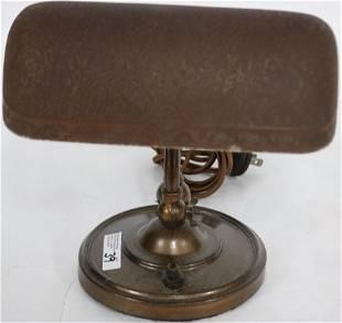 EMERALITE DESK LAMP WITH BROWN CASED BELLAVIA