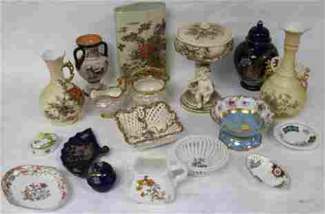 COLLECTION OF 18 PCS. EARLY TO LATE 20TH C.
